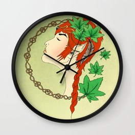 Forest Dreams Wall Clock