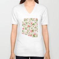 arizona V-neck T-shirts featuring Arizona by Rebecca Hitchcock