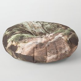 Wild summer - Landscape and Nature Photography Floor Pillow
