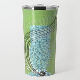 Bong paper art print Travel Mug