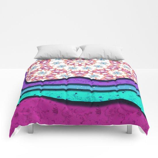 Melting Patterns I Comforters