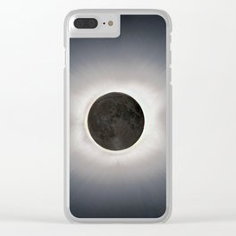 Total Eclipse by  OLena Art Clear iPhone Case