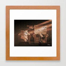Sherlockians, Are you ready? Framed Art Print