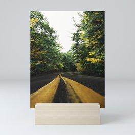 autumn in new england Mini Art Print