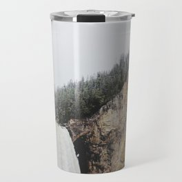 Lower Yellowstone Falls Travel Mug