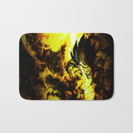 son goku deragon ball Bath Mat