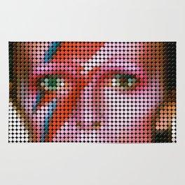 David Bowie Portrait Rug