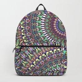 Pastel Garden of Life Mandala Backpack