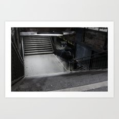 Urban Places - Ostkreuz Berlin Art Print