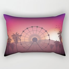 Festival Inspired Sunset Rectangular Pillow