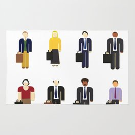 The Office Characters Rug