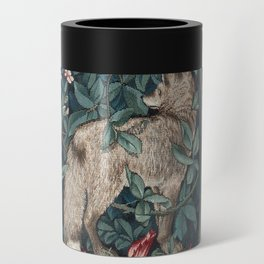 William Morris Forest Fox Tapestry Can Cooler