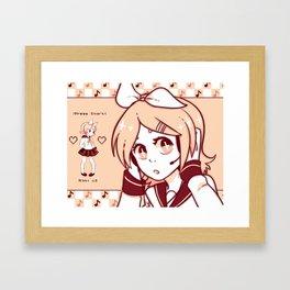 Rin Framed Art Print