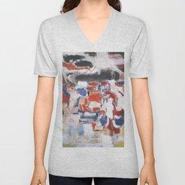 Mark Rothko - No 18 - 1946 Artwork for Wall Art, Prints, Posters, Tshirts, Men, Women, Youth Unisex V-Neck
