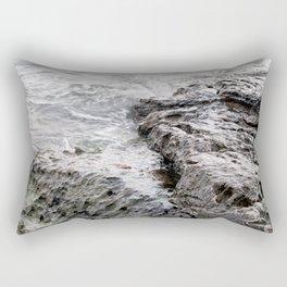 Hug the rocks, can't stop the rocks! Rectangular Pillow