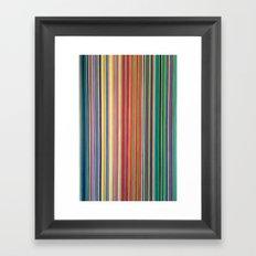 STRIPES 31 Framed Art Print