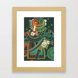 Jack of Hearts Framed Art Print