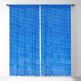 Blue Windows Blackout Curtain
