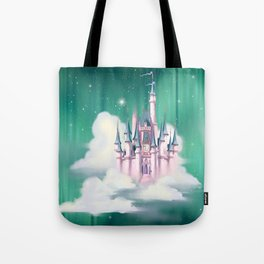 Star Castle In The Clouds Tote Bag