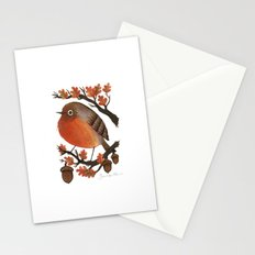 The Robin's Acorn Stationery Cards