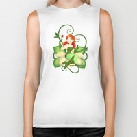 poison ivy Biker Tanks featuring Poison Ivy  by Katie Simpson a.k.a. Redhead-K