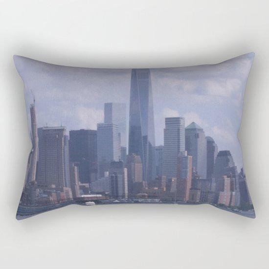NY Cityscape Rectangular Pillow