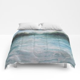 Watercolour Riverscape Comforters