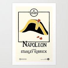 Stanley Kubrick's NAPOLEON (1973) Art Print