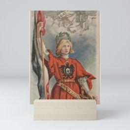 Battle of Sedan, Germany, from the Holidays series (N80) for Duke brand cigarettes Mini Art Print