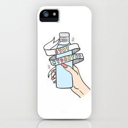 Stay Hydrated iPhone Case