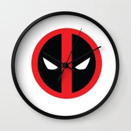 DEAD POOL super hero man Wall Clock