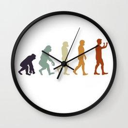 Clarinetist Evolution Wall Clock