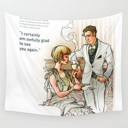 The Great Gatsby_see you again Wall Tapestry
