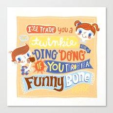 twinkie love Canvas Print