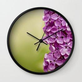 Beautiful Lilac Wall Clock