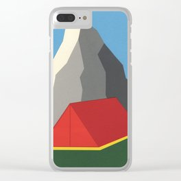 Camp Mount Whitney Clear iPhone Case