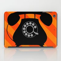 telephone iPad Cases featuring telephone by vitamin