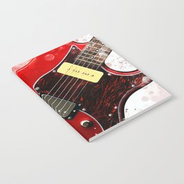 Electric Guitar Art Notebook