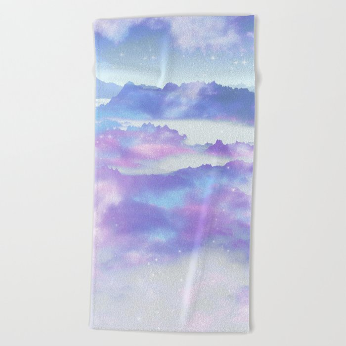 Dreaming landscape Beach Towel