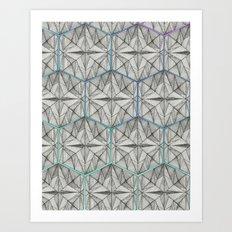 Reconstruct Art Print