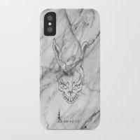 donnie darko iPhone & iPod Cases featuring Donnie Darko Marble by JulietteEp