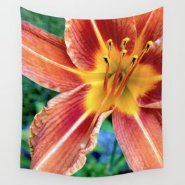 Daylily Wall Tapestry