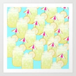 Summer Drink Art Print