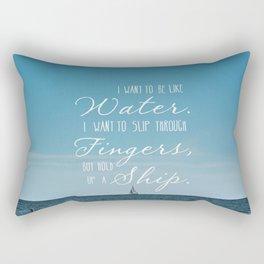 Water Rectangular Pillow
