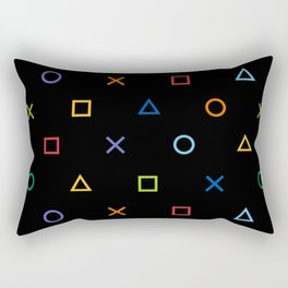Colofrul Gamer Rectangular Pillow