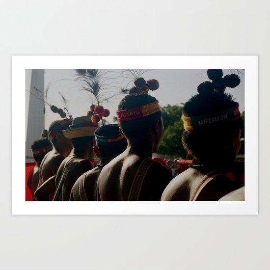 Watta'a (Our Skin) Art Print