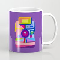 polaroid Mugs featuring Polaroid by MaNia Creations