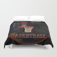 basketball Duvet Covers featuring Basketball by LoRo  Art & Pictures