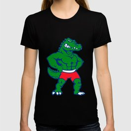 Crocodile Mascot illustration T-shirt