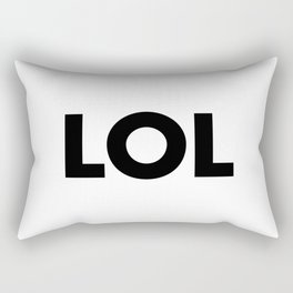 LOL Rectangular Pillow